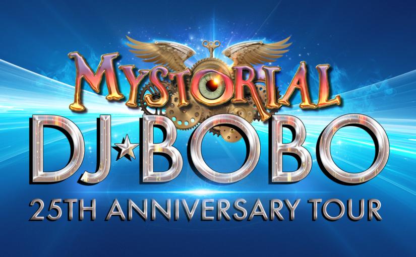25 Jahre! DJ BoBo mit MYSTORIAL auf großer Jubiläumstour