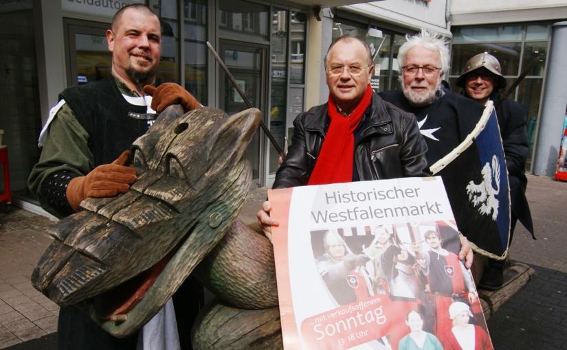 City Werbering lädt in die Unnaer Innenstadt ein – Auf zum Historischen Westfalenmarkt!