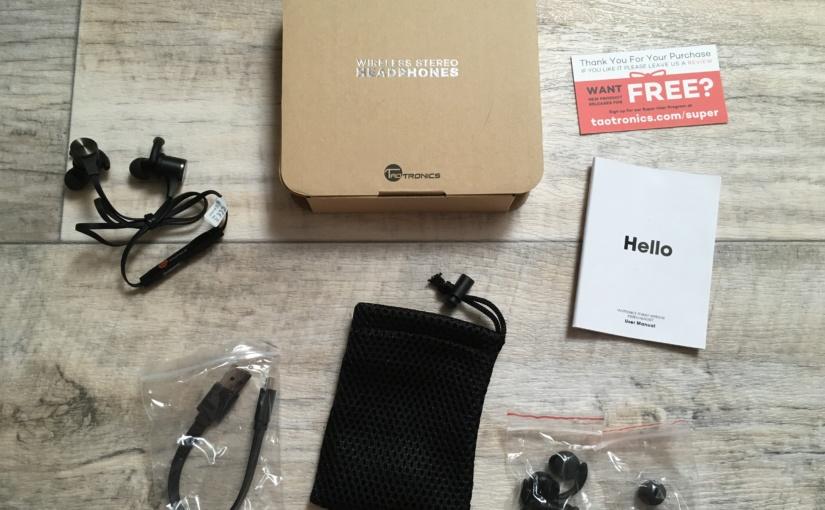 Produkttest – TaoTronics Bluetooth 4.1 Sport Magnetic In-Ear Kopfhörer