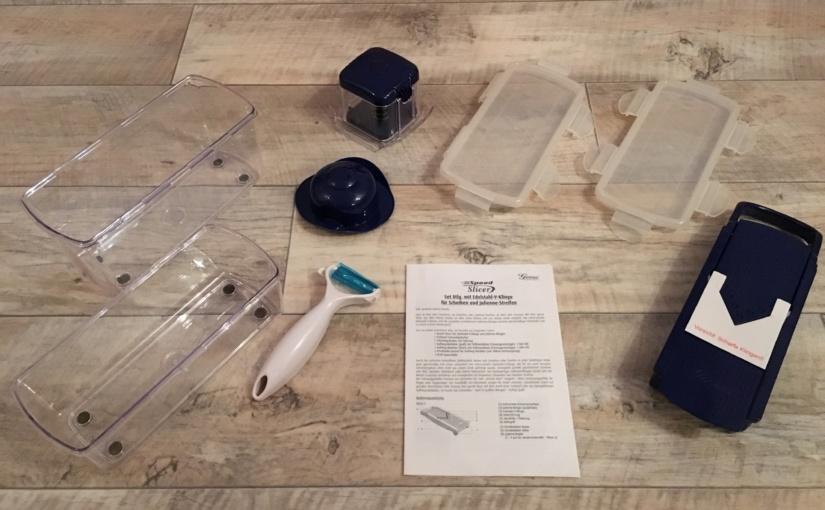 Produkttest – Speed Slicer Set von Genius