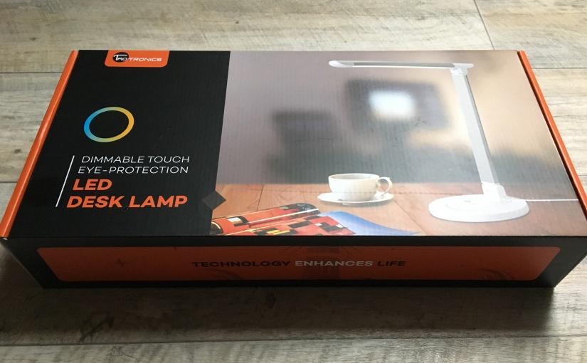 Produkttest mit Vorteilsrabatt für euch – TaoTronics LED Schreibtischlampe mit USB-Anschluss