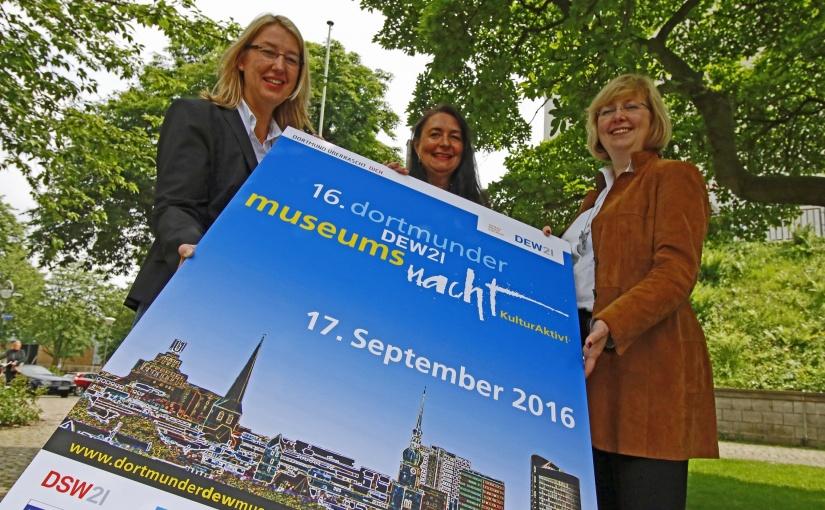 KulturAktiv! – Plakate werben für die 16. Dortmunder DEW21-Museumsnacht