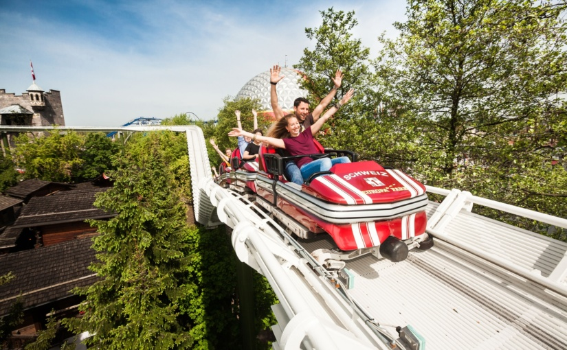 Raclette, Alphornbläser und Bobanschieben – Europa-Park feiert am 1. August das Schweizer Fest