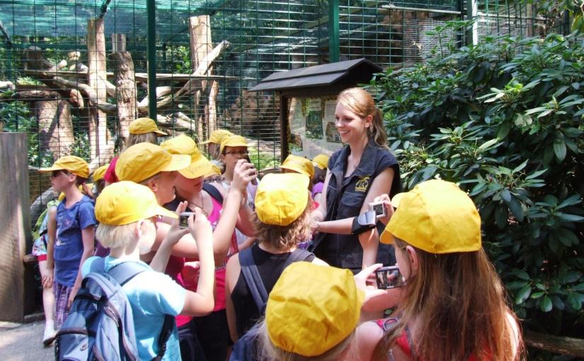 Herbstferien unter Tieren: Zoo bietet Ferienbetreuung