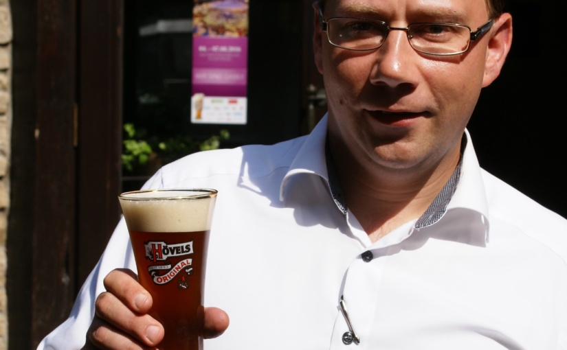 Eigens eingebraut: Ein Spezial-Bier für den Sommer – Nur für kurze Zeit in der Hövels Hausbrauerei
