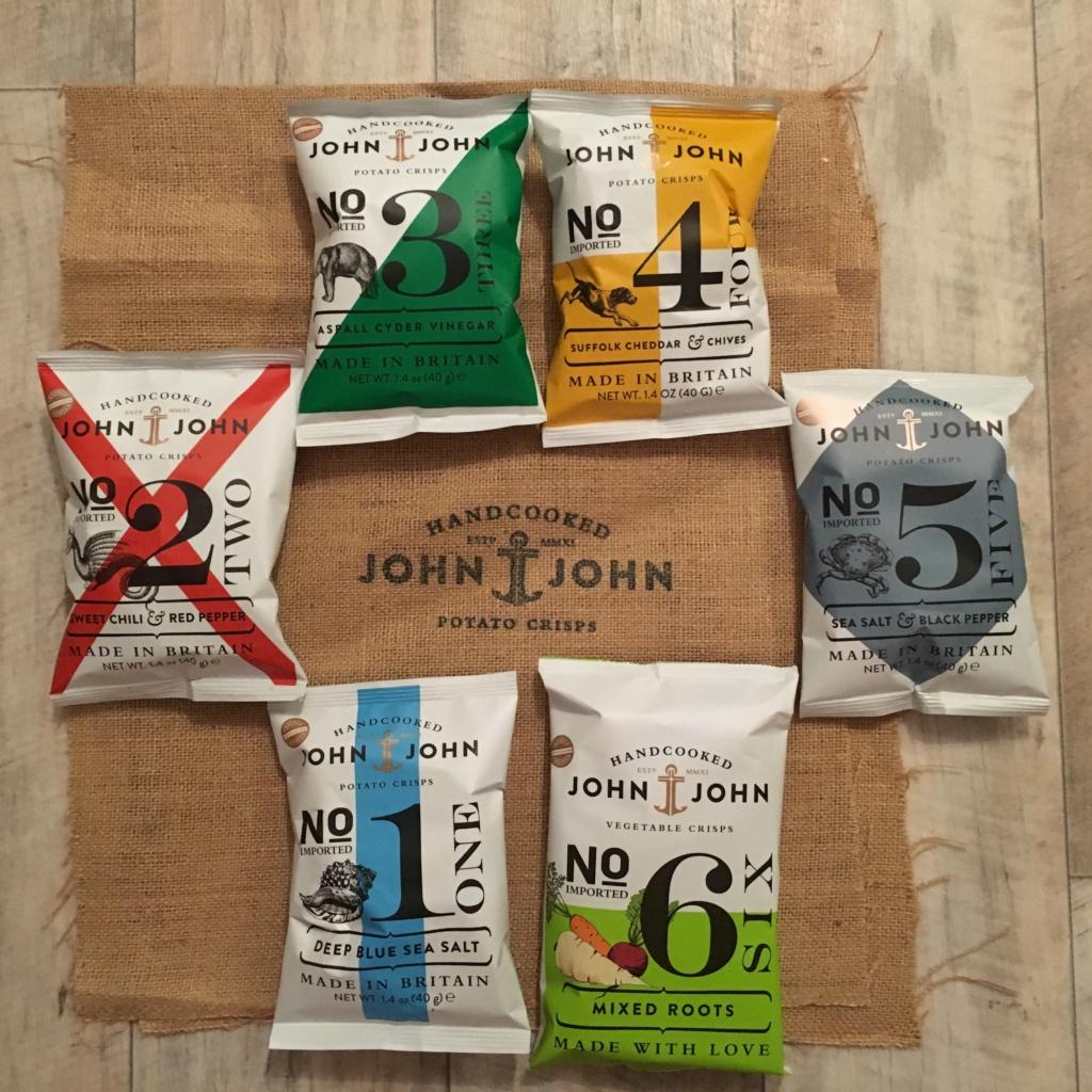 Handcooked Chips von John & John