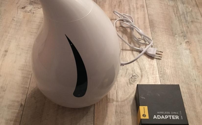 Produkttest – Bluetooth Adapter und Ultraschall Kaltnebel Luftbefeuchter von TaoTronics