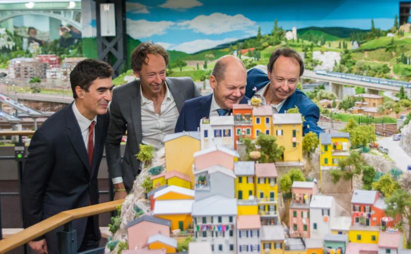 Das Miniatur-Meisterwerk Italien im Miniatur Wunderland eröffnet