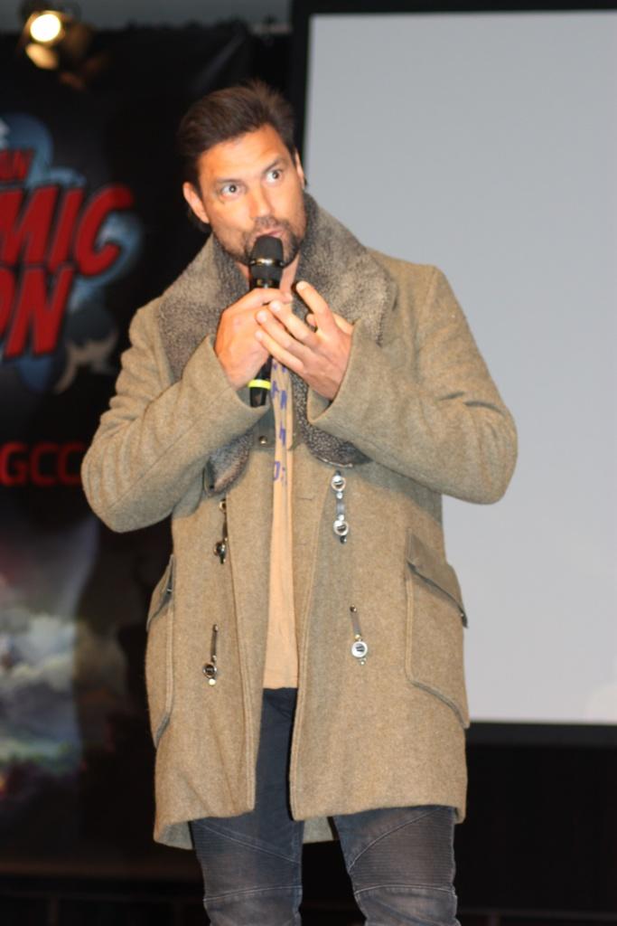 Das Foto zeigt den Schauspieler Manu Bennett. Bekannt zum Beispiel aus Spartacus, Der Hobbit oder Arrow - Foto: Sabine Gremm (Filipe Tavares (Presse-GCC))