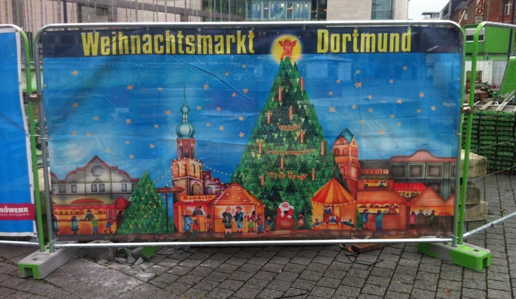 Banner Dortmunder Weihnachtsmarkt