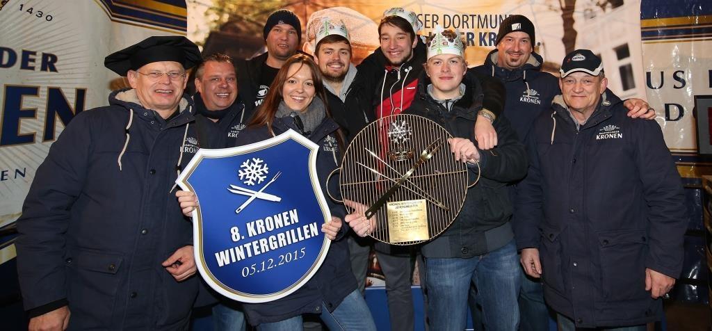 Titelverteidiger aufgepasst! Jetzt geht es wieder um die Wurst! Am 3.12. wird beim Dortmunder Kronen Wintergrillen angefeuert.