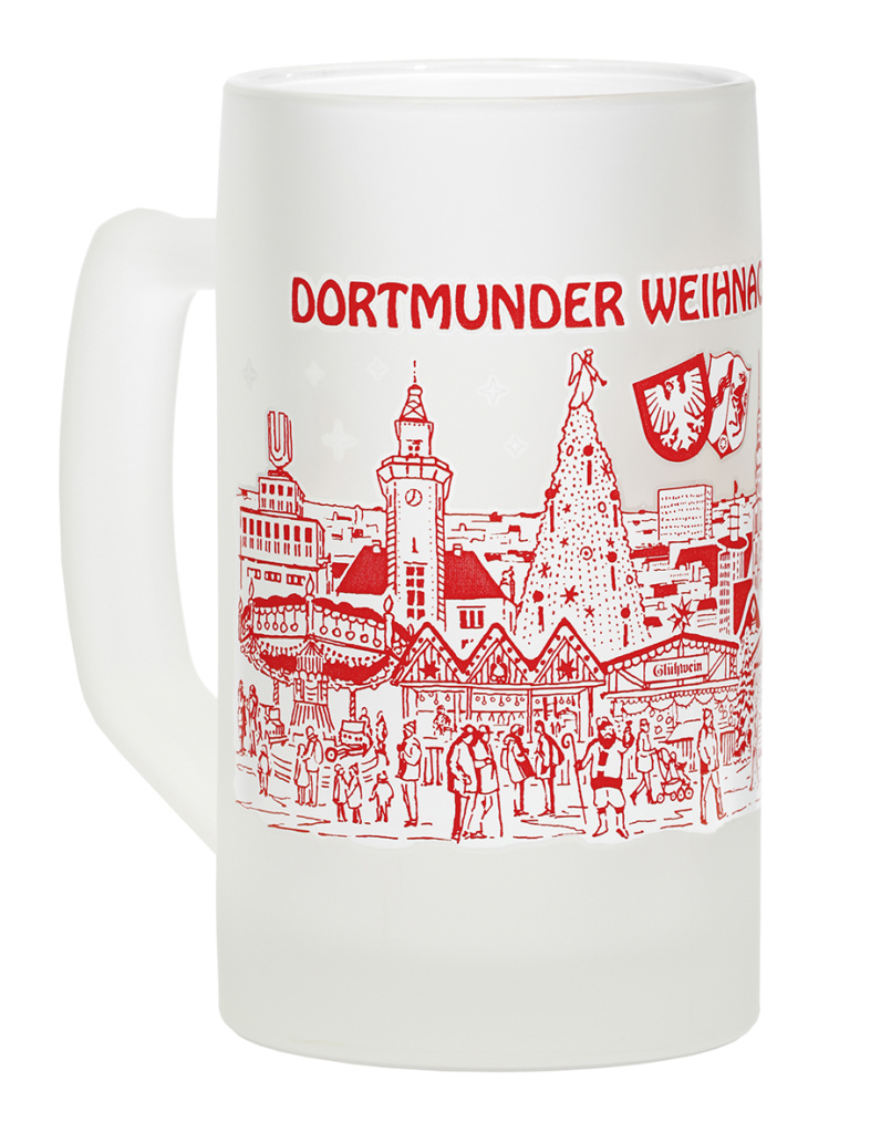 Glühweinbecher Dortmunder Weihnachtsmarkt 2016