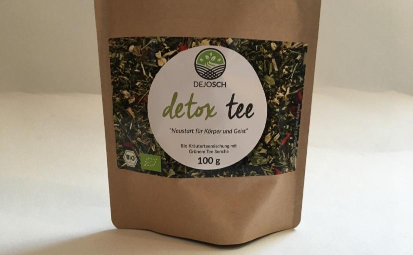 Produkttest – DEJOSCH BIO Detox Tee