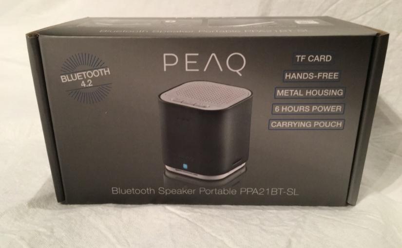Produkttest mit Gewinnspiel – Bluetooth-Würfel von PEAQ