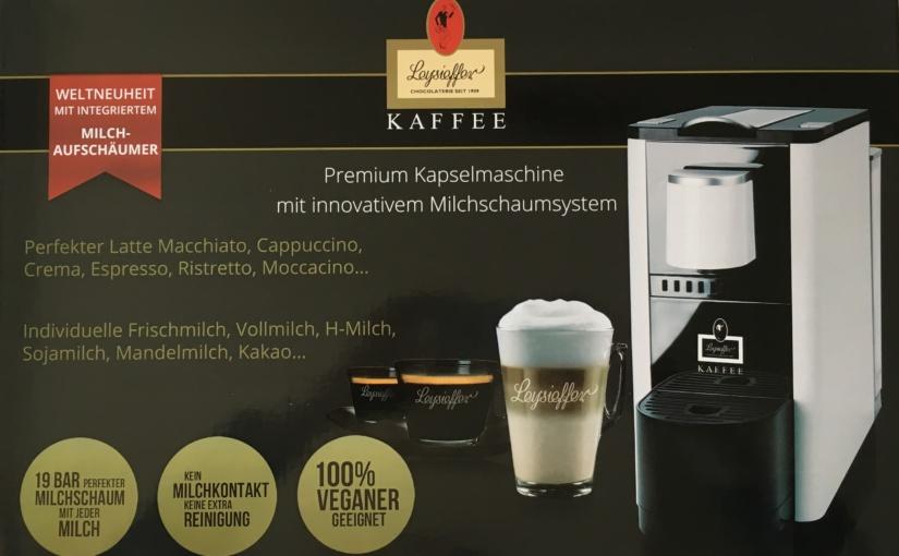 Produkttest – Leysieffer Kaffee Premium Kapselmaschine mit innovativem Milchschaumsystem weiß
