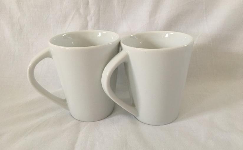 Produkttest – Kaffeebecher aus der Kasva Weiss Porzellanservice Serie von Villa Table