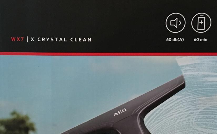 Produkttest – Fenstersauger WX7-60CE1 von AEG