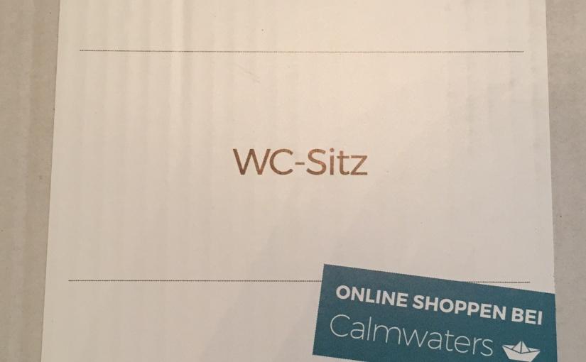 Produkttest – Flacher WC-Sitz in Weiß mit Absenkautomatik von Calmwaters – Der Bad Shop
