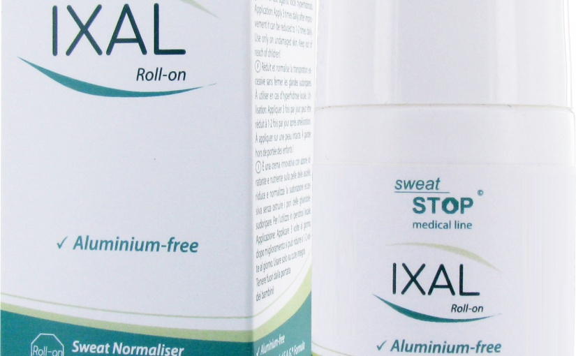 Produkttest – IXAL Antitranspirant Roll-On OHNE Aluminiumsalze by everdry