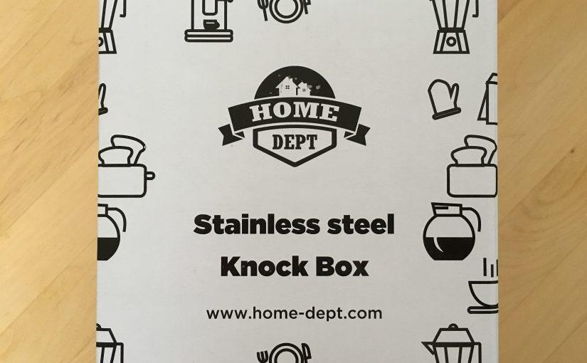 Nützliches Zubehör für die Kaffeezubereitung – die Knock Box von HOME DEPT im Test